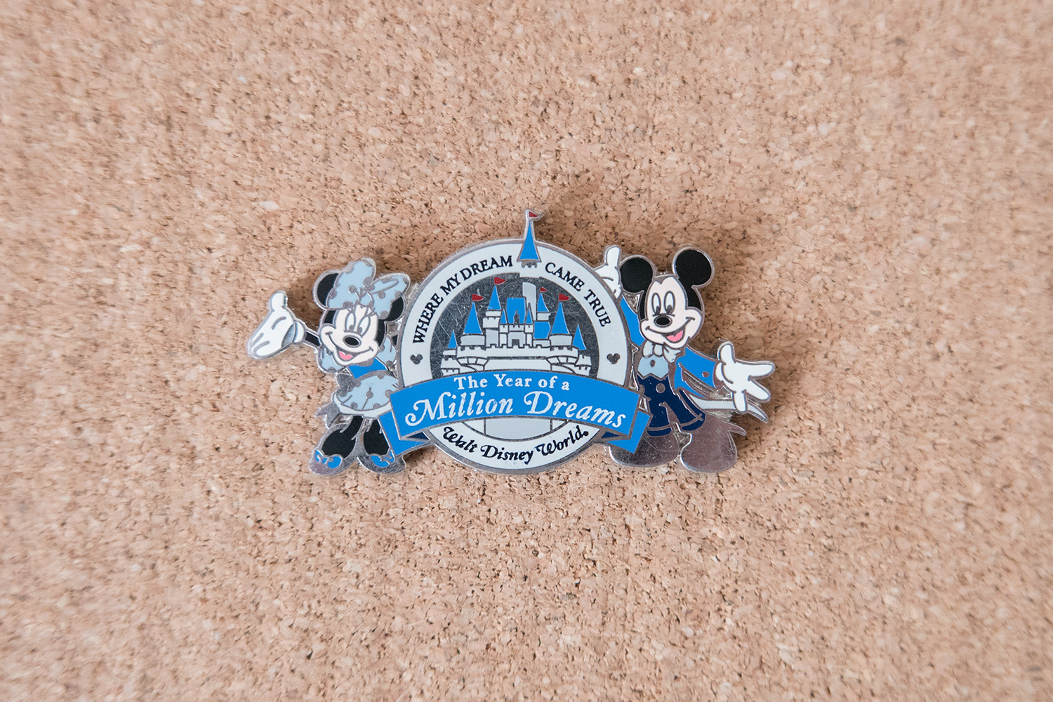 Disney Pin Year of a Million Dreams Exclusive